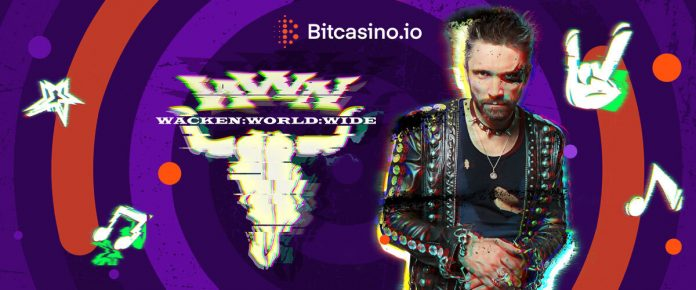 Bitcasino Supports Wacken World Wide to bring Live Metal to Homes of Fans